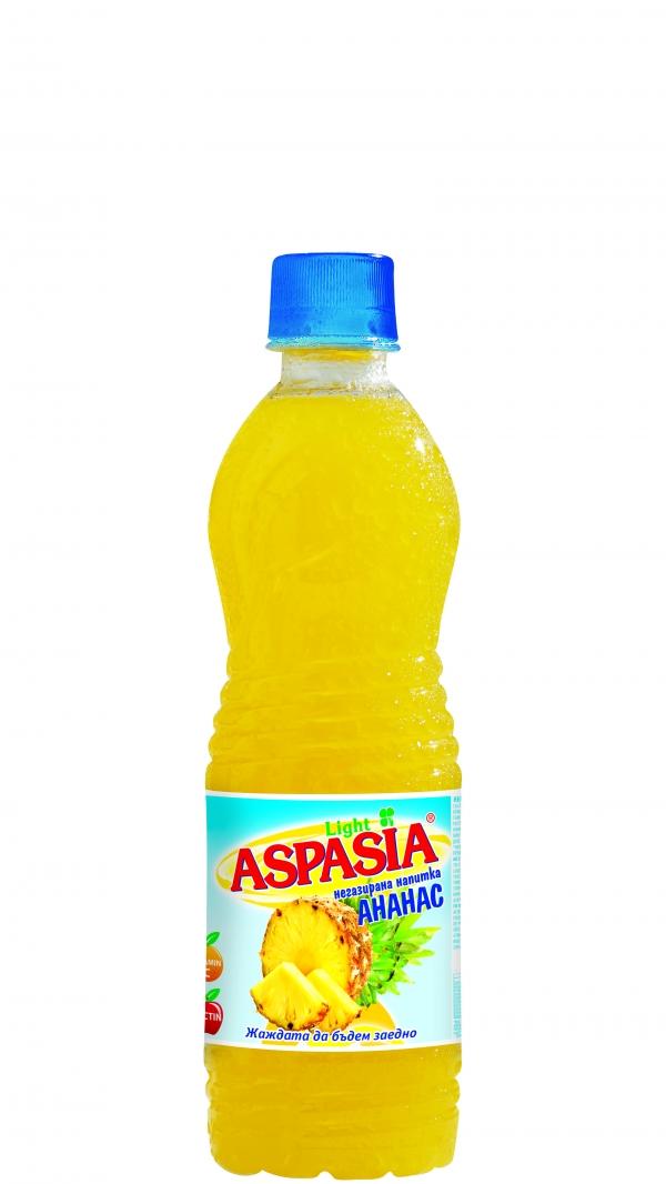 Негазирана Напитка Аспазия Ананас 0.5 л