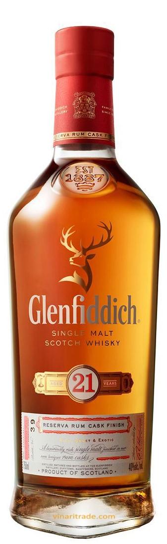Уиски Гленфидих 21 годишен 0.7 л
