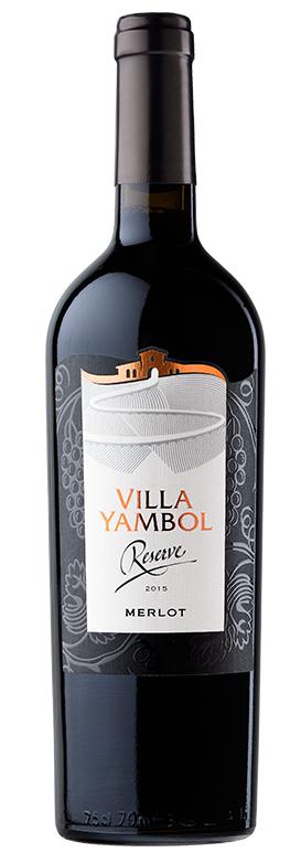 Червено Вино Вила Ямбол Мерло Резерва 0.75