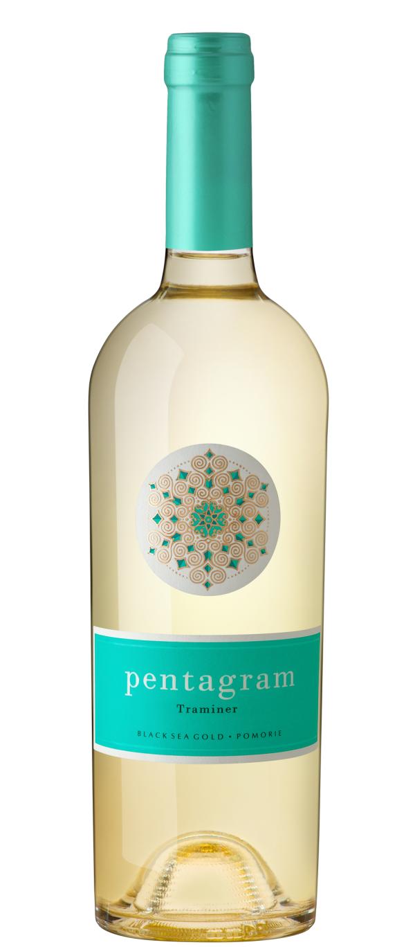 Бяло Вино Пентаграм Траминер Поморие 0.75 л