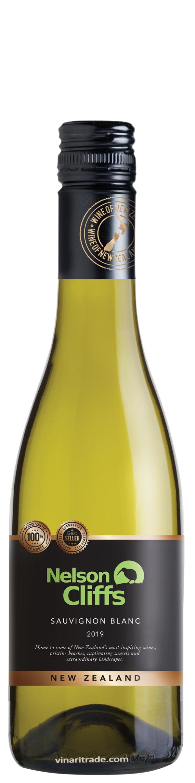 Бяло Вино Нелсън Клифс Совиньон Блан 0.375 л