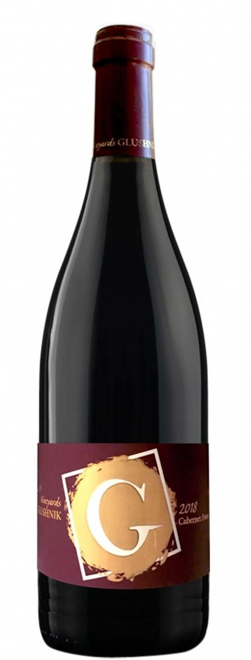 Червено Вино Глушник Каберне Фран 0.75 л