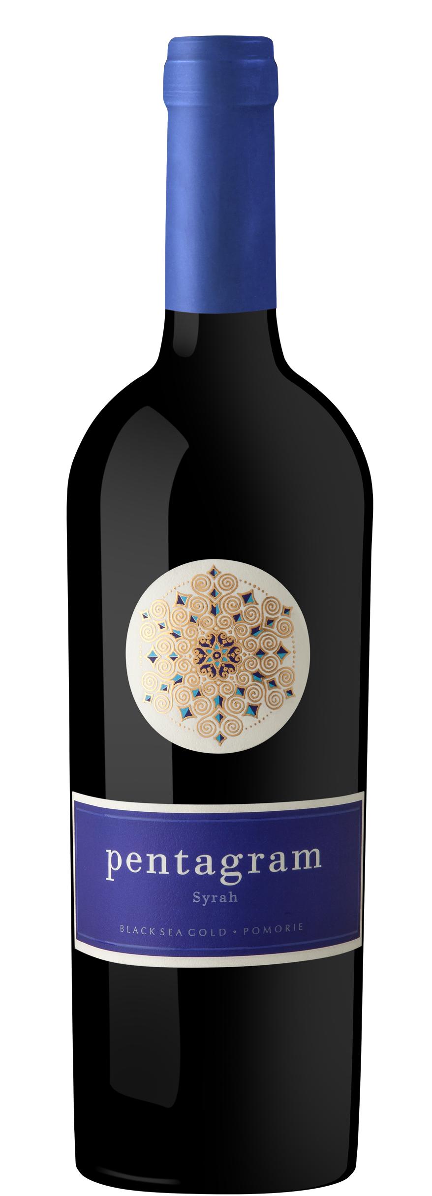 Червено Вино Пентаграм Сира Поморие 0.75 л