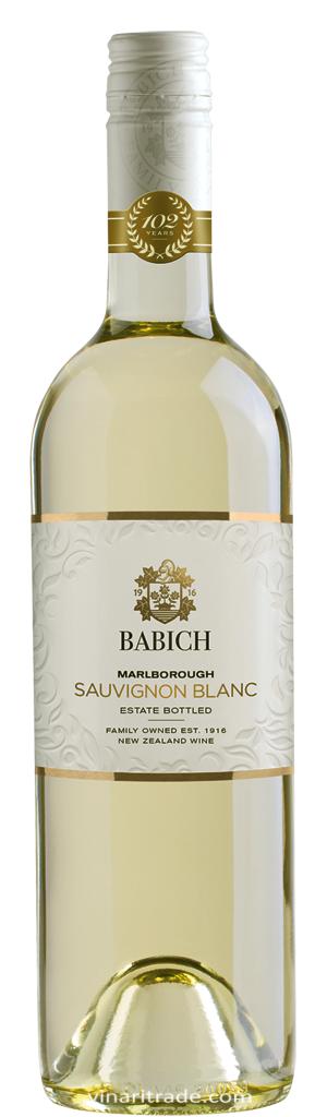 Бяло Вино Совиньон Блан Бабич Марлборо 0.75 л