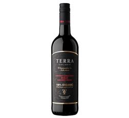 Червено Вино Тера Тангра Органик, Мерло х Каберне х Мавруд 0.75 л