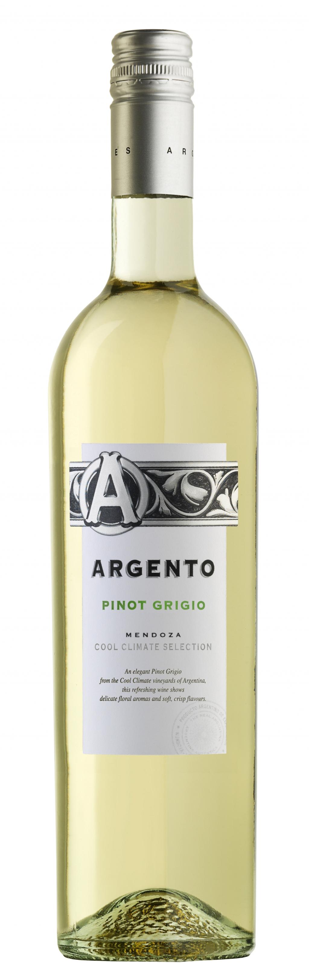 Бяло Вино Пино Гриджо Ардженто, Мендоса 0.75 л