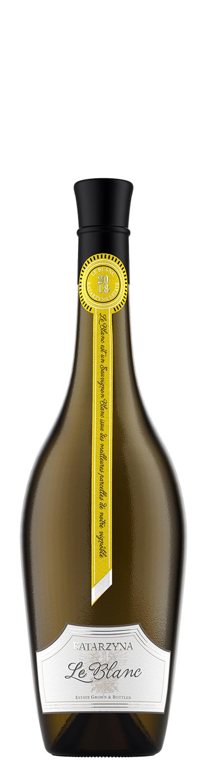 Бяло Вино Ле Блан Совиньон Блан Катаржина 0.375 л