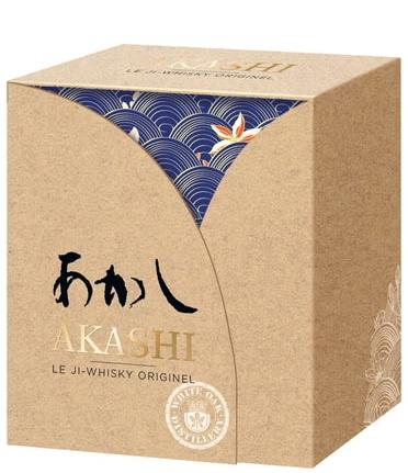 Японско Уиски Акаши Мейсей 0.5 л с 2 Чаши