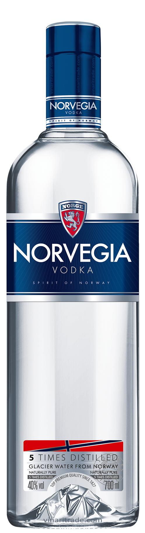 Водка Норвегия 0.7 л