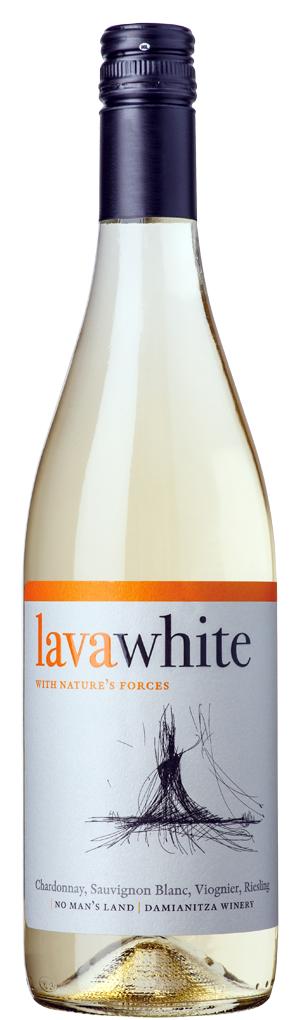 Лава Бяло Вино Ничия Земя 0.75 л