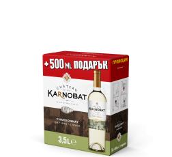 Бяло Вино Шато Карнобат Шардоне 3 л, Бег ин Бокс