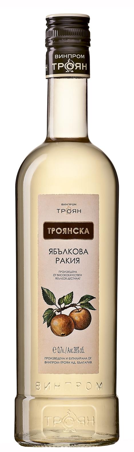 Троянска Ябълкова Ракия 0.7 л