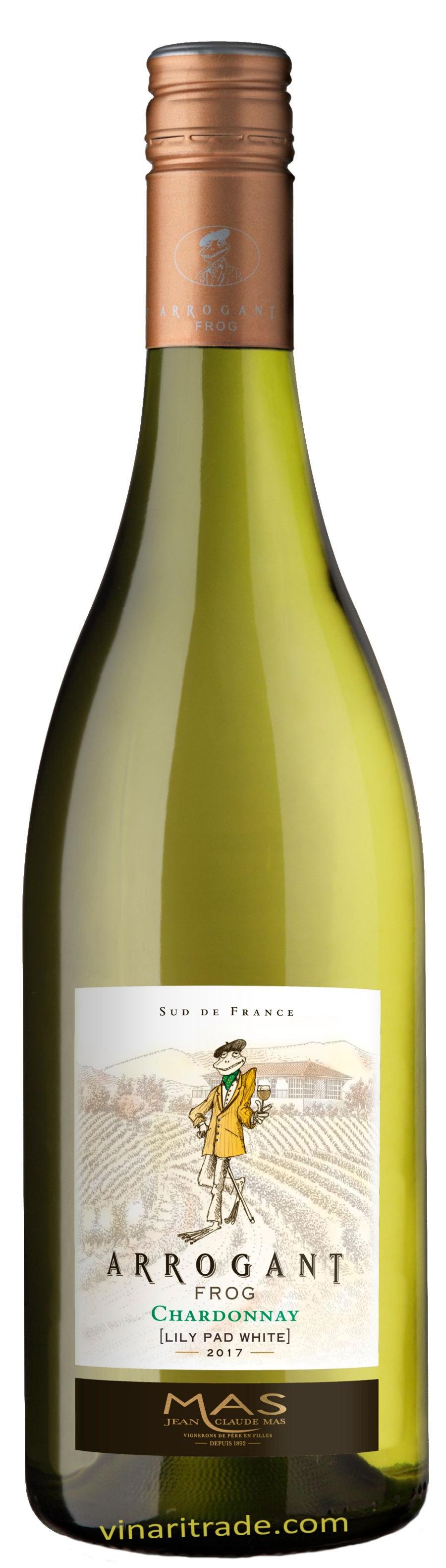 Бяло Вино Арогант Фрог Шардоне 0.75 л