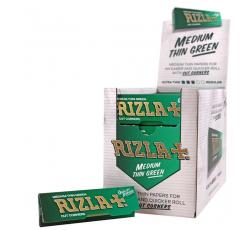 Хартийки за Цигари Rizla + Зелен