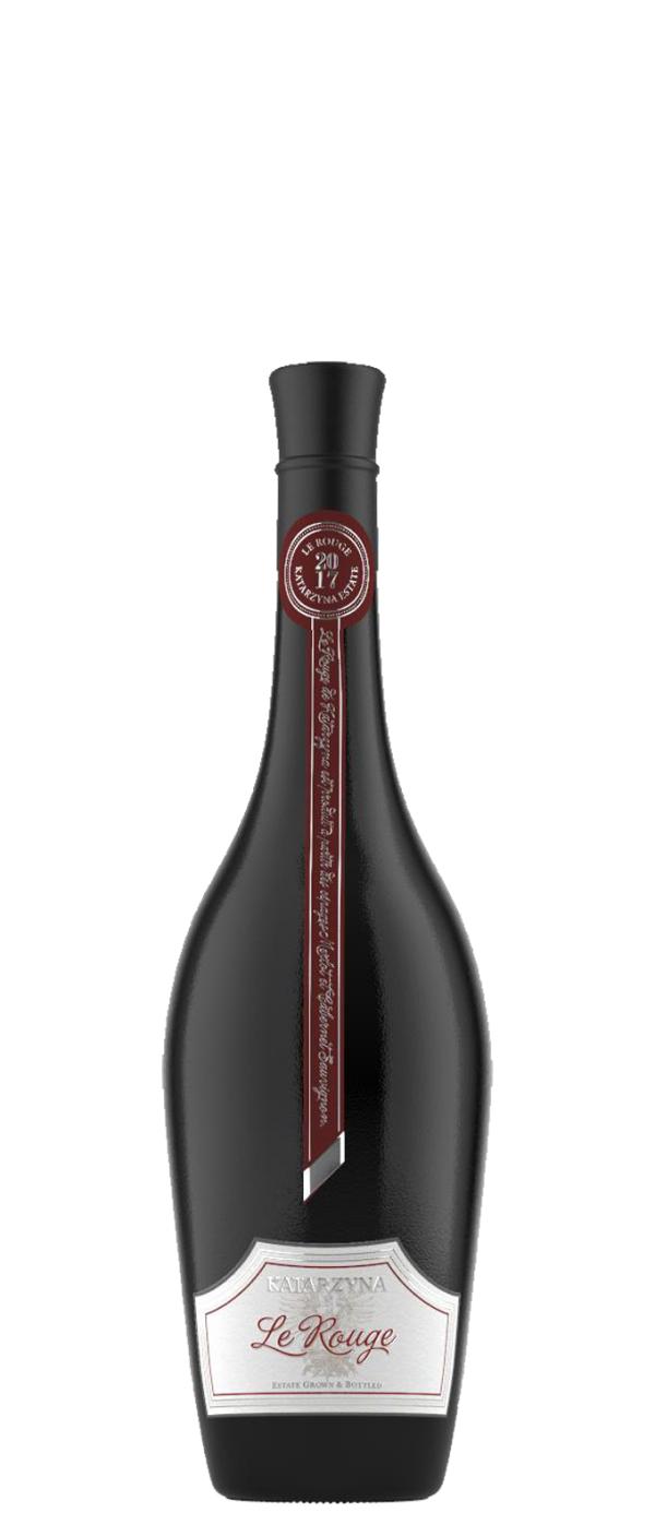 Червено Вино Ле Руж Катаржина 0.375 л