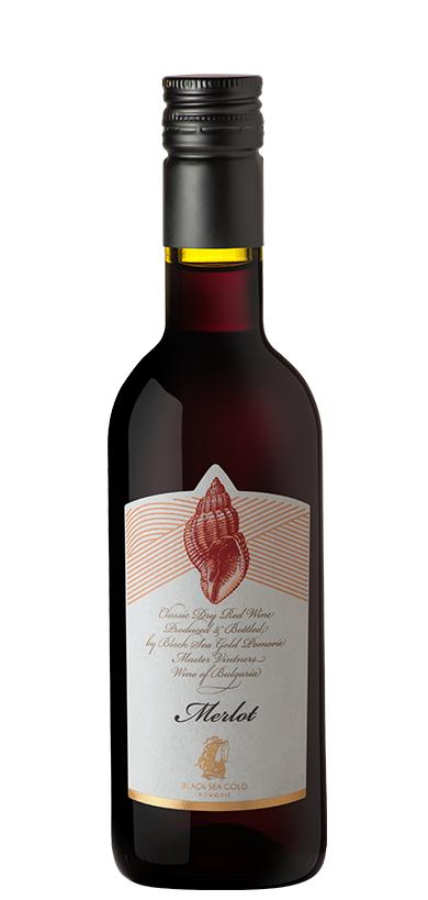 Червено Вино Раковина Мерло Поморие 0.250 л