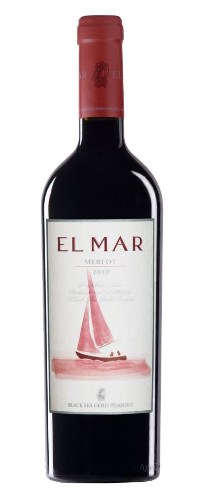 Червено Вино Ел Мар Мерло Поморие 0.75 л