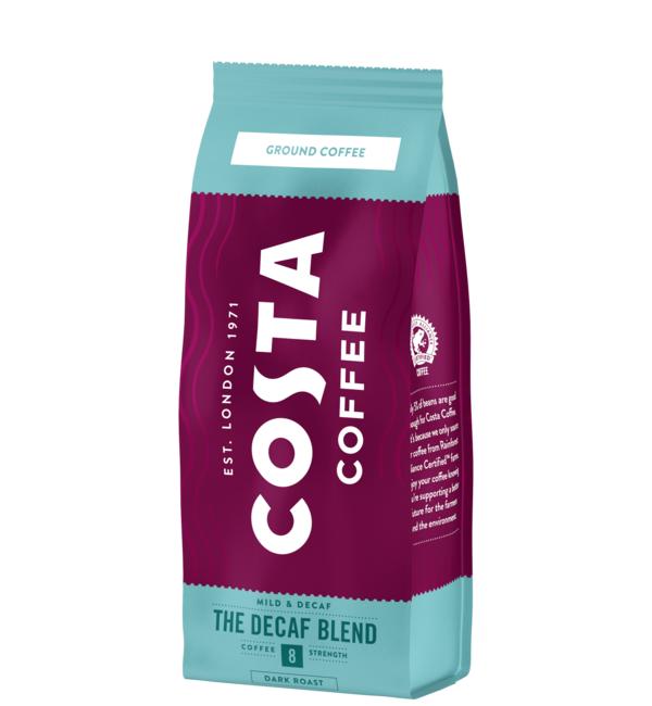 Коста Кафе Без Кофеин 200 гр Мляно