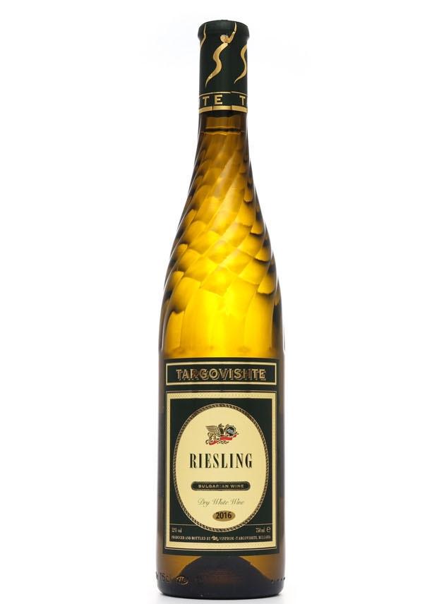Бяло Вино Ризлинг Търговище 0.75 л