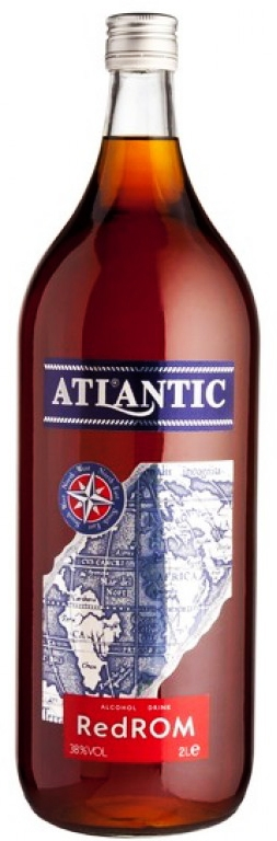 Ром Атлантик Червен 2 л