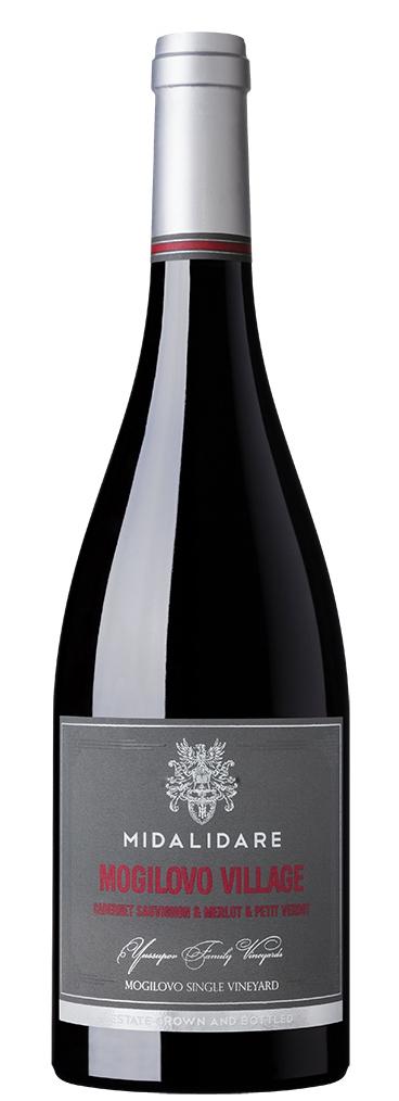 Червено Вино Мидалидаре Могилово Вилидж 0.75 л