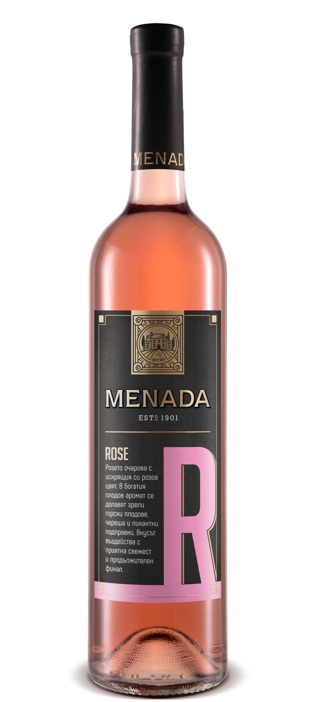 Менада Розе Тракийска Низина 0.75 л