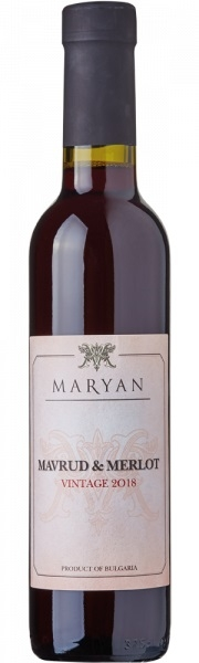 Червено Вино Марян Мавруд х Мерло 0.375 л