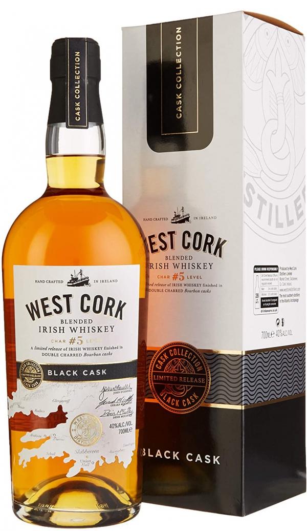 Уиски Уест Корк Блек Каск 0.7 л