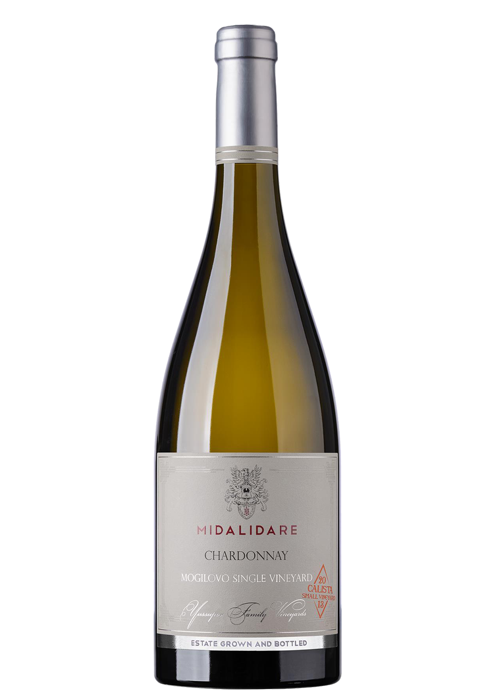 Бяло Вино Мидалидаре Калиста Шардоне 0.75 л