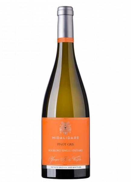 Бяло Вино Мидалидаре Пино Гри 0.75 л