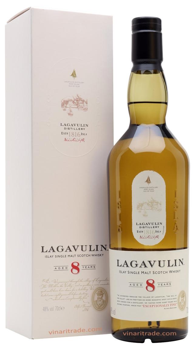 Уиски Лагавулин 8 годишен 0.7 л