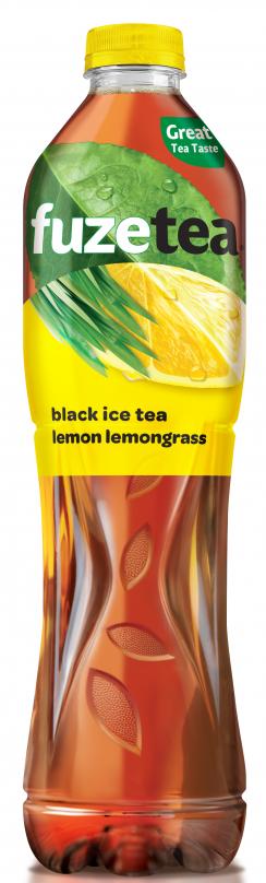 Студен Чай Фюзтий Лимон и Лимонена Трева 1.5 л