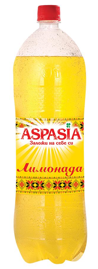 Газирана Безалкохолна Напитка Аспазия Лимонада 2 л