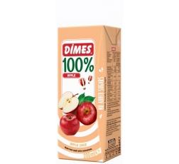 Сок Димес Ябълка 100% 0.2 л