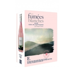 Вино Ле Фюме Бланш, Розе, Франсоа Люртон 3 л