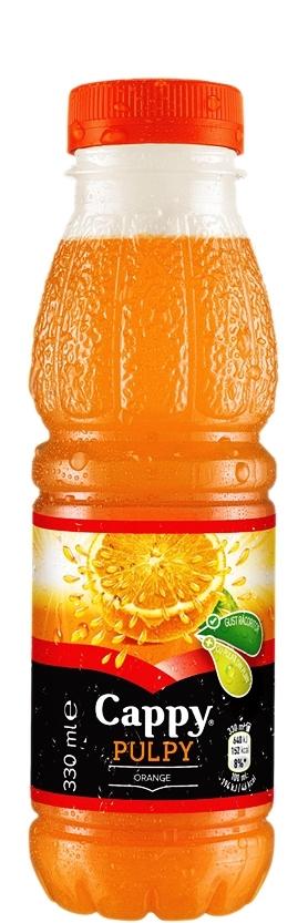 Натурален Сок Капи Пълпи Портокал 0.33 л