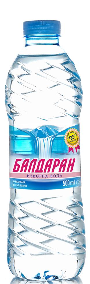 Изворна Вода Балдаран 0.5 л, 12 бр в Стек