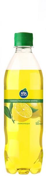 Газирана Напитка ВВВ Лимонада 0.5 л