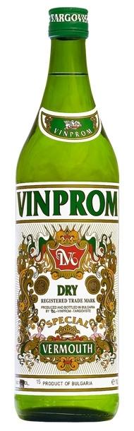 Вермут Винпром Търговище Сух 1 л