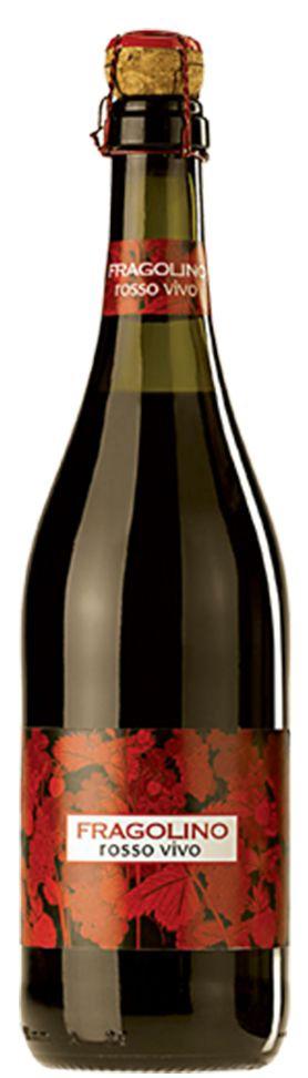 Пенливо Вино Фраголино Росо 0.75 л