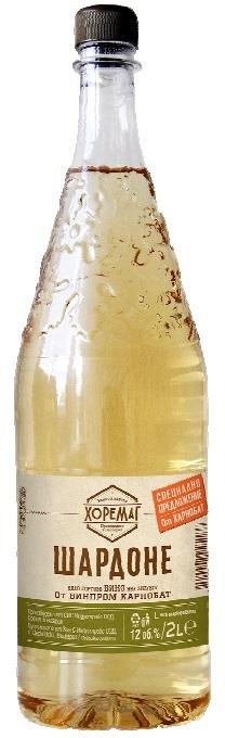 Бяло Вино Карнобат Хоремаг Мускат 2 л
