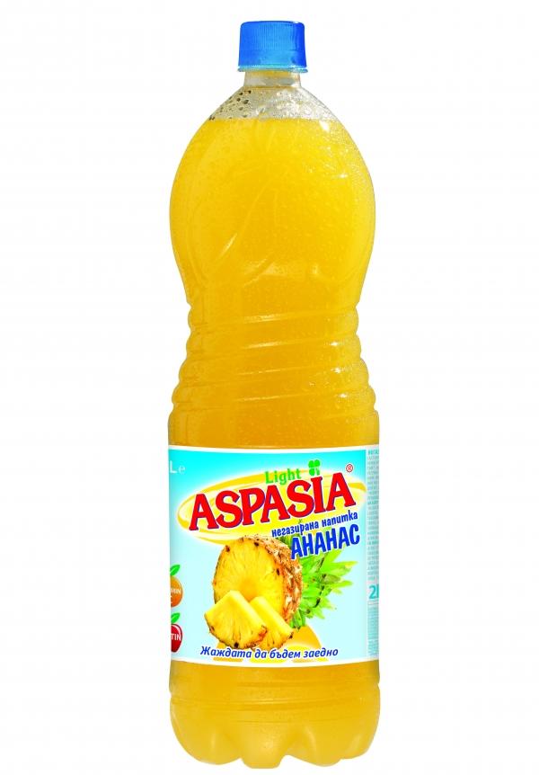 Негазирана Напитка Аспазия Ананас 2 л