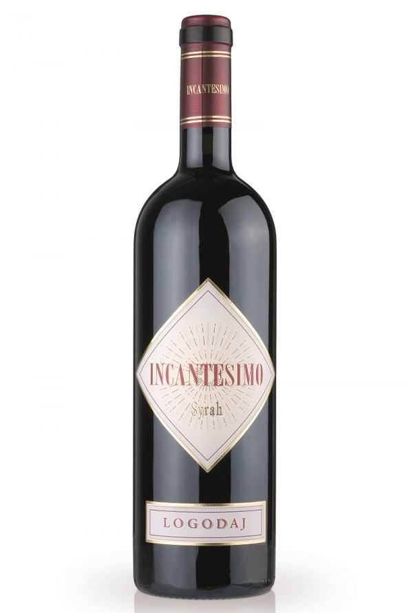 Червено Вино Логодаж Инкантесимо Сира 0.75 л