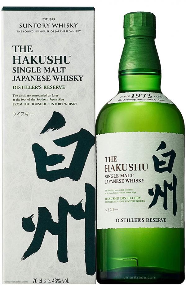 Японско Уиски Хакушу Дистилъри Ризърв 0.7 л