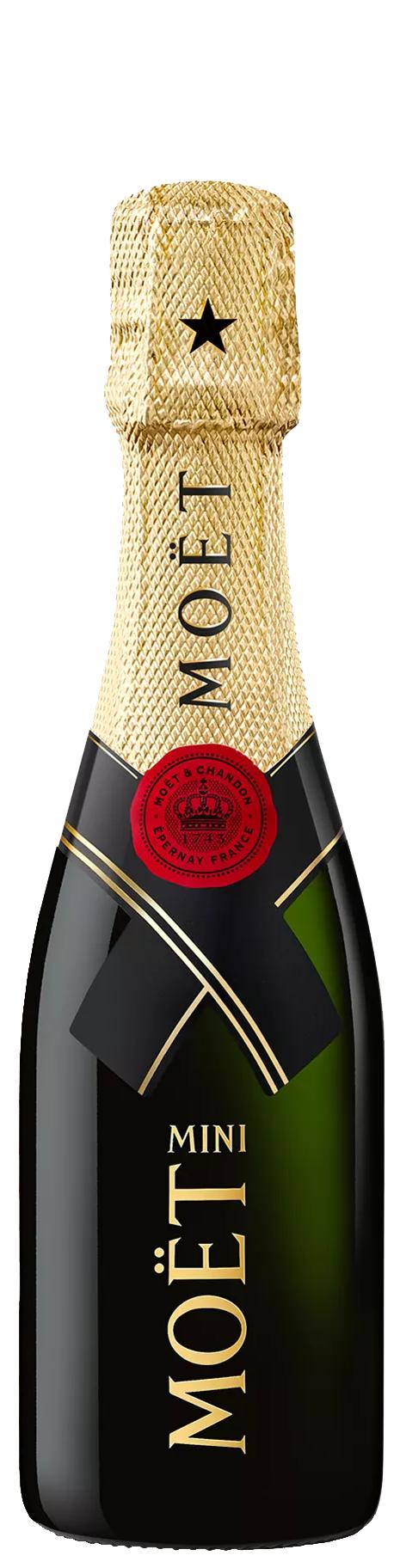 Шампанско Моет Шандон Империал Брут 0.200 л