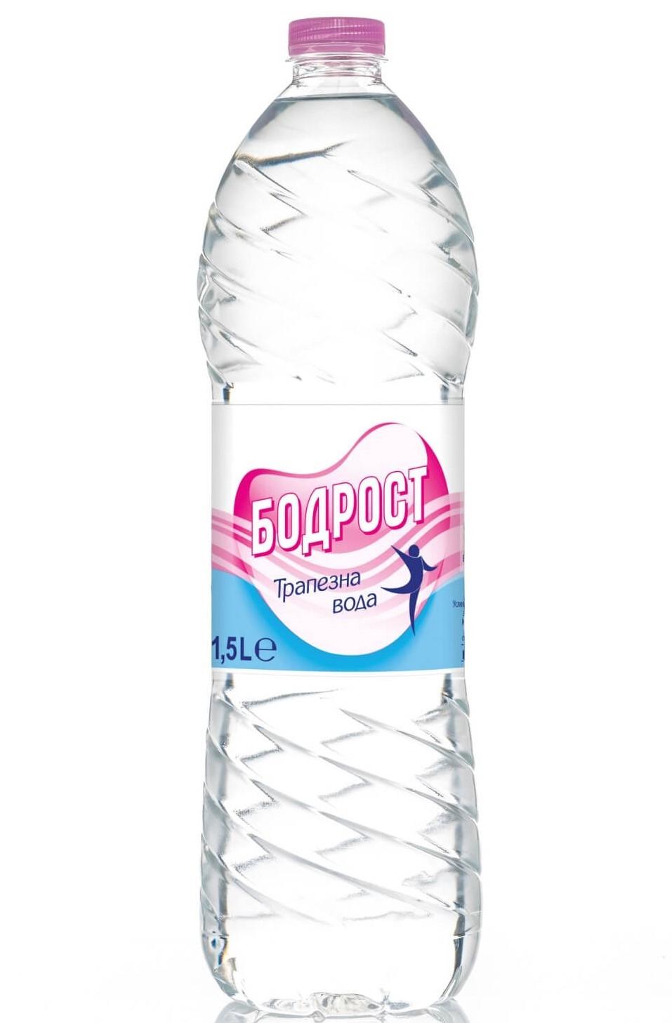 Трапезна Вода Бодрост 1.5 л, 6 бр в Стек