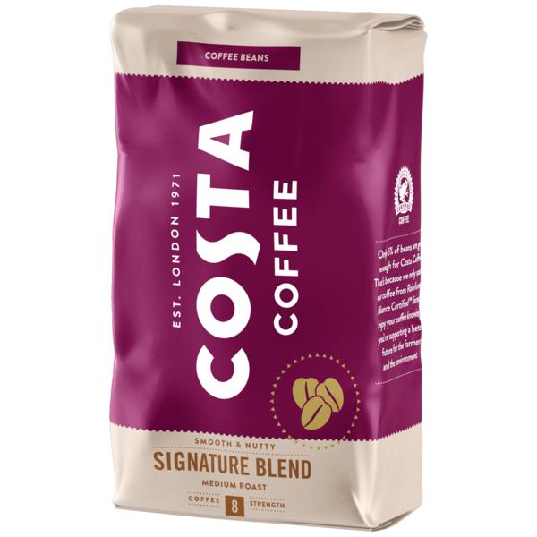 Коста Кафе Сигничър Мидиъм 1 кг Зърна