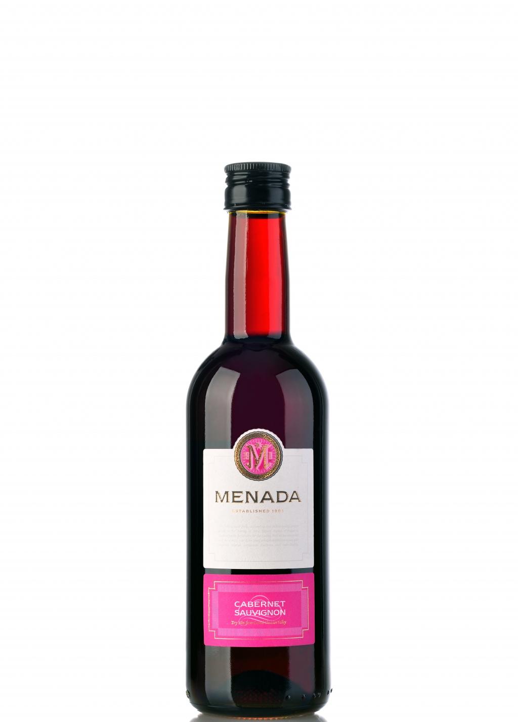 Червено Вино Менада Каберне Совиньон 0.250 л