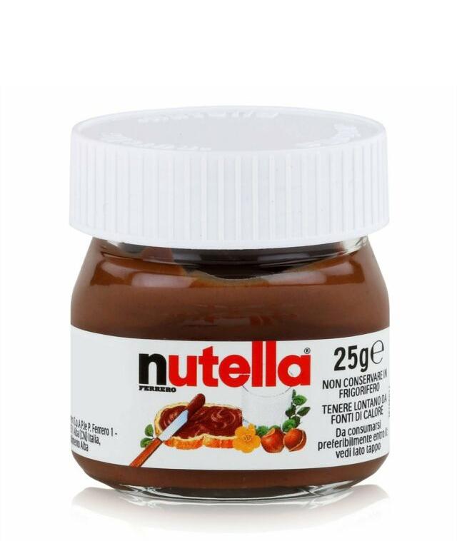 Течен Шоколад Нутела 25 гр