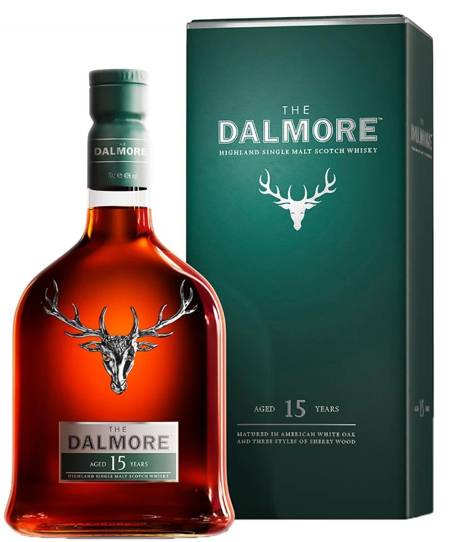 Уиски Далмор 15 годишен 0.7 л